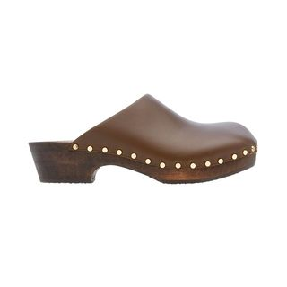 Leather clogs from Lucca