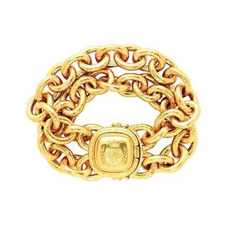 Queen Bee oval bracelet