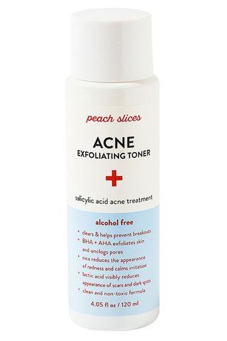 Peach Slices Anti-Acne Exfoliating Toner