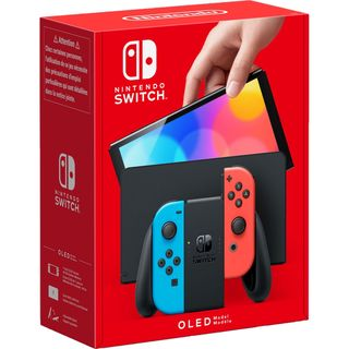 Nintendo Switch OLED Model 64GB - Neon Red/Blue