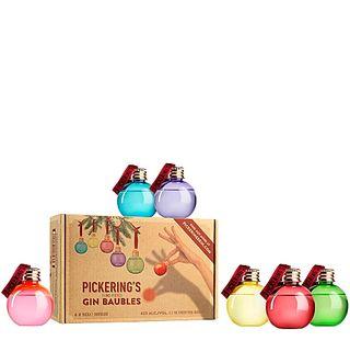 Pack of 6 Christmas gin balls