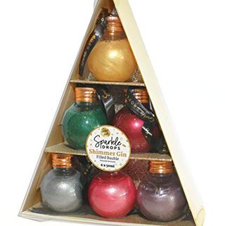 Sparkle Drops Shimmer Gin Bauble Tree Flavored Drink