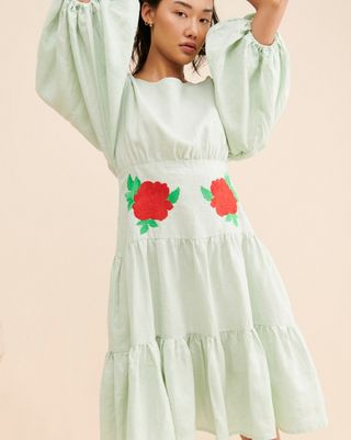 Linen dress Salda