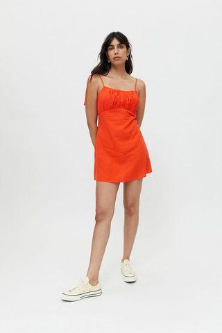 Urban Renewal Eco lingerie with ruffled mini dress