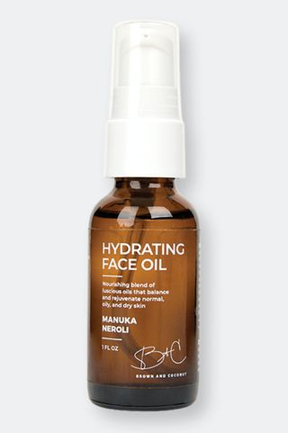 Brown and Coconut Hydrating Face Oil