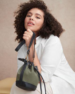 Baby Bella Detachable Strap Bucket Bag