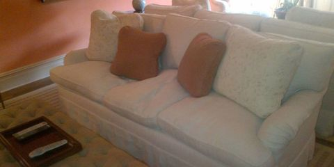 Room, Brown, Interior design, Living room, Wall, Orange, Couch, Tan, Home, Interior design,