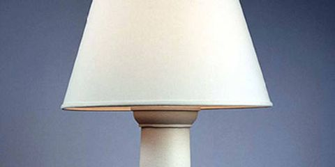 "<p>Column Table Lamp, Carole Gratale ($1,200; <a href=""http://www.carolegratale.com"">CaroleGratale.com</a>)</p>"