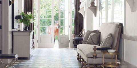 Floor, Interior design, Flooring, Room, Property, White, Ceiling, Interior design, Home, Light fixture,