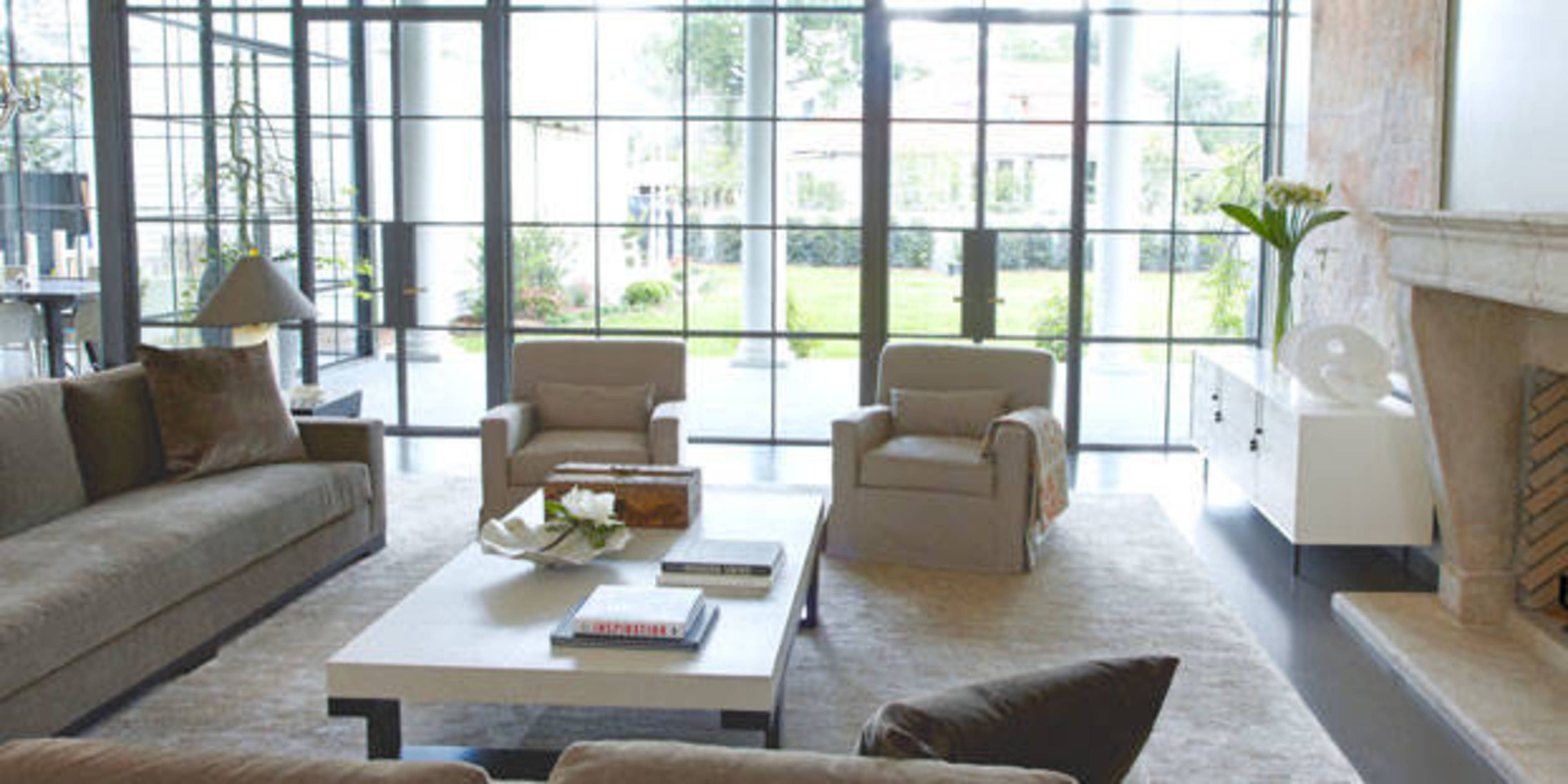 New Orleans Contemporary Home Month Of Living Rooms