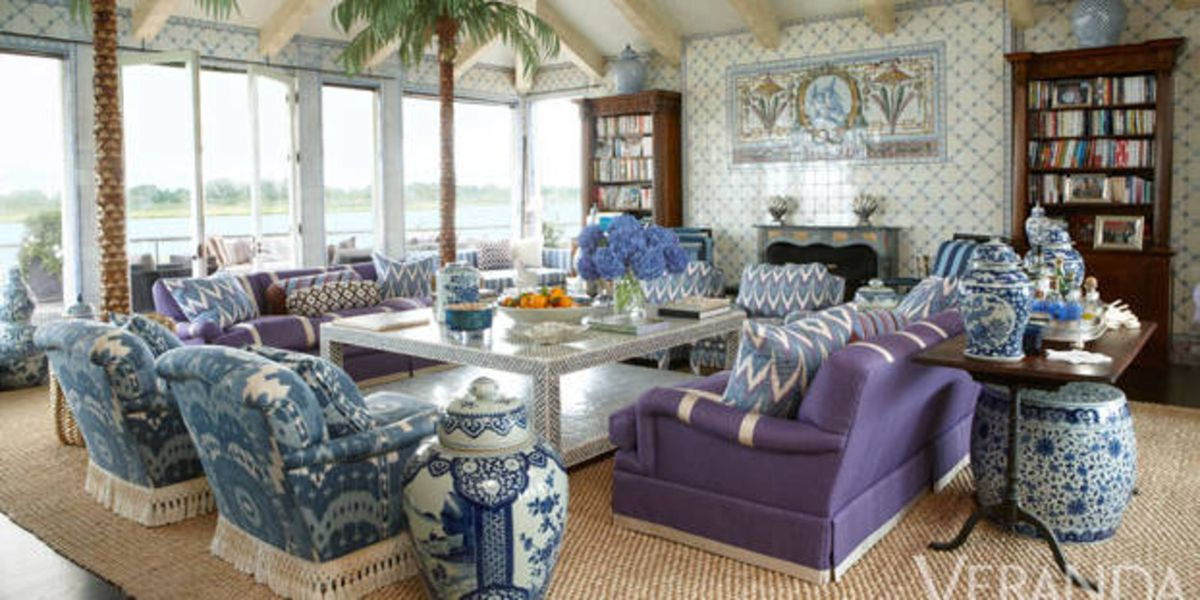 Colorful Southampton Home Month Of Living Rooms