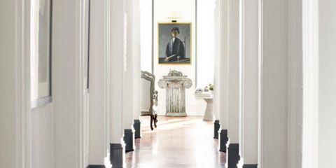 Architecture, White, Floor, Ceiling, Column, Interior design, Arch, Molding, Hall, Light fixture,