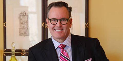 "He may be a quintessential Southern gentleman, but Virginia-based designer Barry Dixon has a distinctive design aesthetic that crosses well beyond the Mason-Dixon Line. His love of modern-day travel and global influences remains integral to his work, but his products and interiors maintain a strong link to history, classical architecture and traditional forms. ""All of my pieces are connected to both past and future, and by combining the two, I hope they will achieve a true sense of timelessness,"" says Dixon. ""I often wonder, 'One or two generations later, will people still think this is a beautiful thing?' If my designs meet that criteria, then I think it's worthy of going into the collection."""