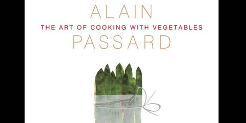 "<p>Alain Passard, esteemed chef of the Michelin-starred restaurant L'Arpège, in Paris, banished meat from his kitchen more than a decade ago in favor of fresh produce harvested from his own organic gardens. In his new cookbook, The Art of Cooking with Vegetables, Passard shares his celebration of seasonal ingredients with simple, elegant recipes that are illustrated with collages created by Passard himself. The book is organized by month, to catch key ingredients at their peaks. Here are some of our favorite recipes, in Passard's own words, to help you capture the flavors of the season. <br /><br />Published by <a href=""http://www.franceslincoln.co.uk/en/C/0/Book/3321/The_Art_of_Cooking_with_Vegetables.html"">Francis Lincoln</a>, $29.95. To purchase, <a href=""http://www.amazon.com/The-Cooking-Vegetables-Alain-Passard/dp/0711233357"">click here</a>.</p>"