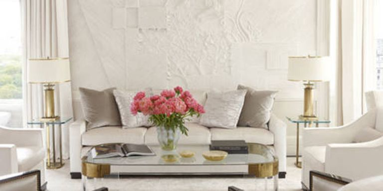 These all-white rooms are anything but boring. See how designers create  dazzling looks with this monochromatic palette.