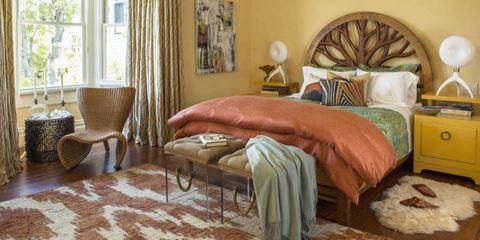 Wood, Interior design, Room, Brown, Floor, Property, Flooring, Textile, Furniture, Wall,