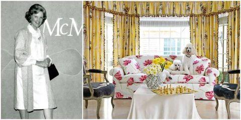 Yellow, Tablecloth, Room, Textile, Furniture, Petal, Interior design, Linens, Bouquet, Purple,