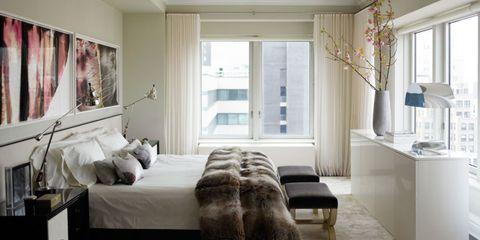 Room, Interior design, Floor, Wood, Flooring, Property, Bed, Wall, Textile, Home,