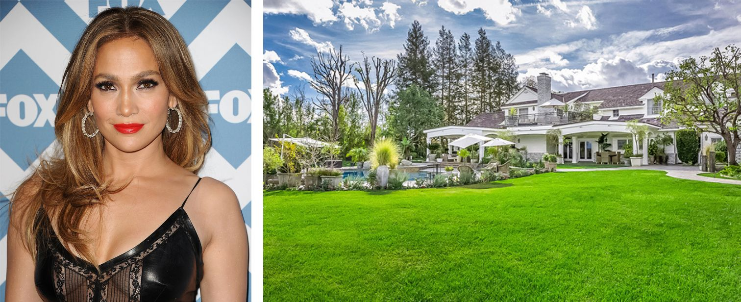 The Gorgeous Mansion J.Lo Is Selling Was Once Featured In Veranda