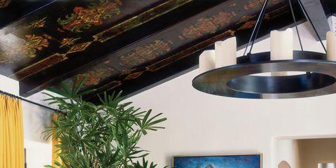Lighting, Interior design, Floor, Flooring, Interior design, Hardwood, Houseplant, Light fixture, Design, Armrest,