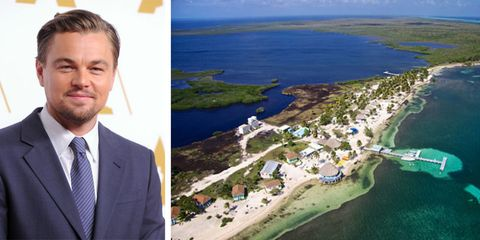 Leonardo Dicaprio Is Opening An Eco Resort On His Private