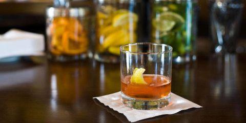 Fluid, Liquid, Alcohol, Alcoholic beverage, Drink, Serveware, Table, Barware, Bottle, Drinkware,