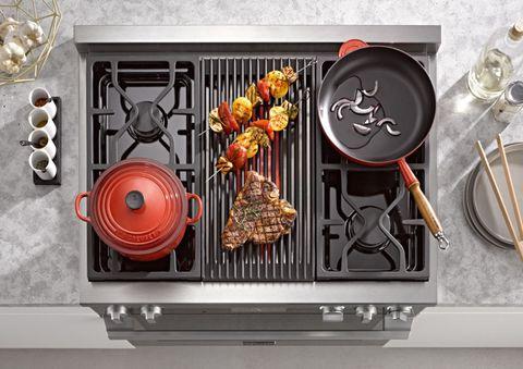 Cuisine, Dishware, Serveware, Kitchen appliance, Kitchen utensil, Kitchen appliance accessory, Home appliance, Major appliance, Cutlery, Cooking,