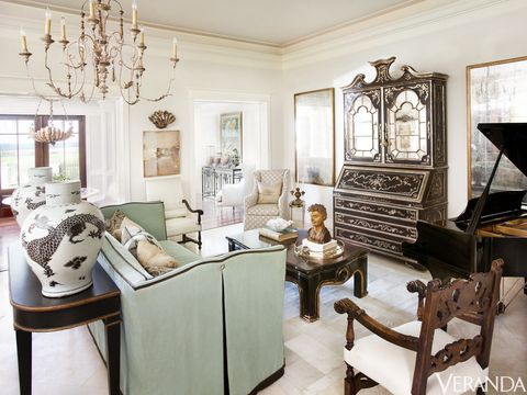 Interior design, Room, Table, Furniture, Interior design, Ceiling, Living room, House, Couch, Molding,