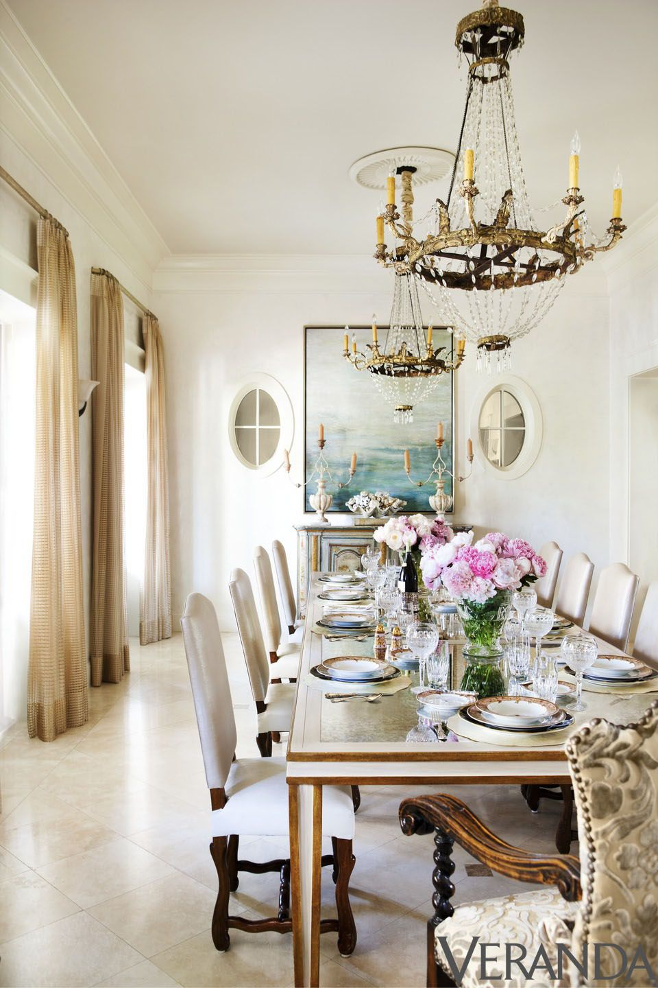 house tour inside emeril lagasses seaside sanctuary - Veranda Dining Rooms
