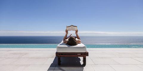 Comfort, Leisure, Sitting, Summer, Ocean, Tourism, Aqua, Vacation, Horizon, Sea,
