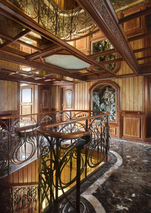 Architecture, Interior design, Ceiling, Room, Iron, Glass, Floor, Beam, Hardwood, Fixture,
