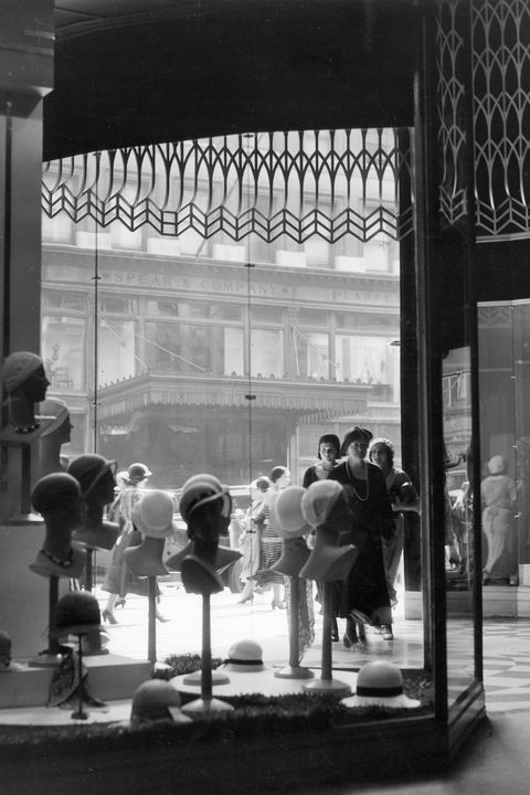 Monochrome, Mannequin, Display window, Retail, Transparent material, Monochrome photography, Display case, Collection,