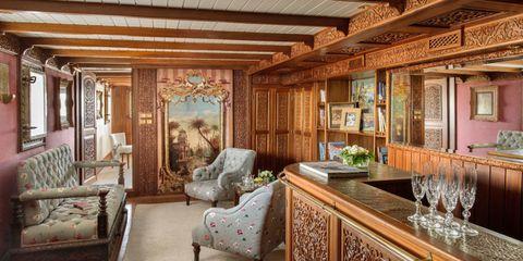 Wood, Interior design, Room, Property, Textile, Ceiling, Floor, Wall, Furniture, Interior design,