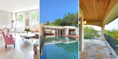 Property, Real estate, Swimming pool, Interior design, Resort, Room, Floor, Furniture, Table, Shade,