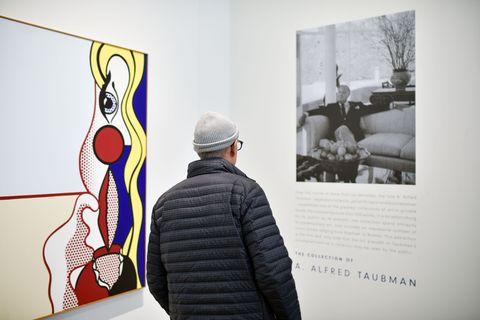 Wall, Art, Art gallery, Modern art, Artist, Exhibition, Art exhibition, Art paint, Art dealer, Visual arts,