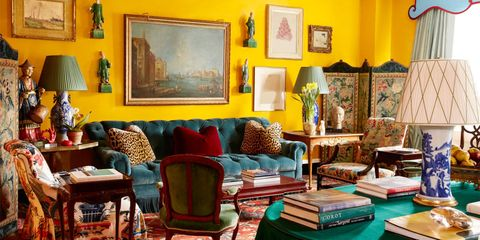 HOUSE TOUR: Designer Miles Redd Brings His Signature Flair To A Classic NYC Apartment