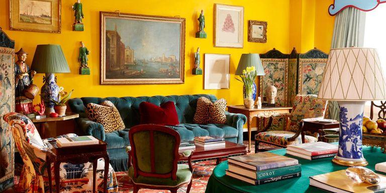 20 Something Manhattan Apartment: Miles Redd Designs A Colorful Manhattan Apartment