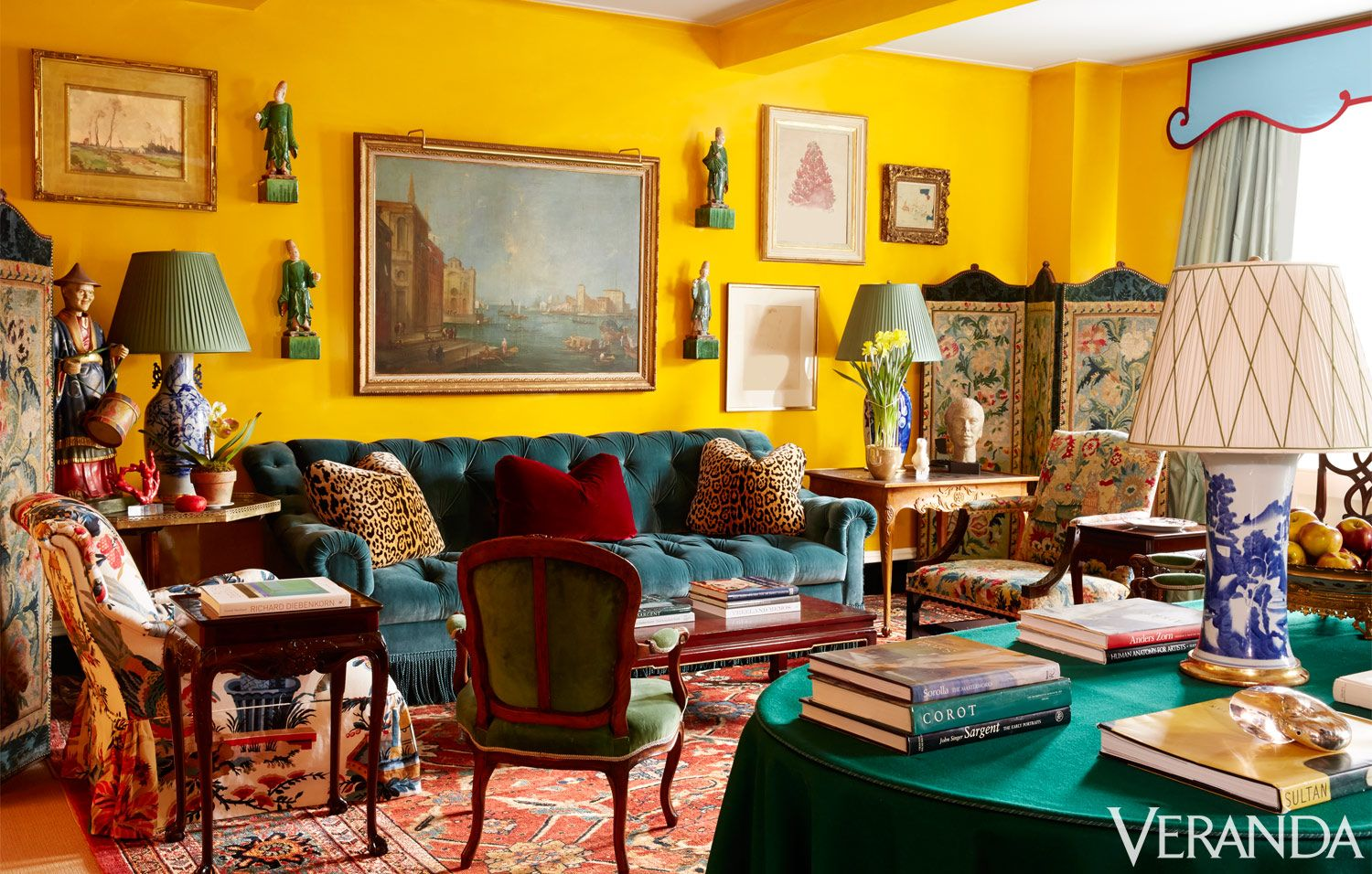Awe Inspiring Miles Redd Designs A Colorful Manhattan Apartment Tour A Interior Design Ideas Ghosoteloinfo