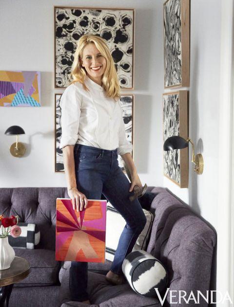 <p>Designer Celerie Kemble. Sconces, Visual Comfort.</p>