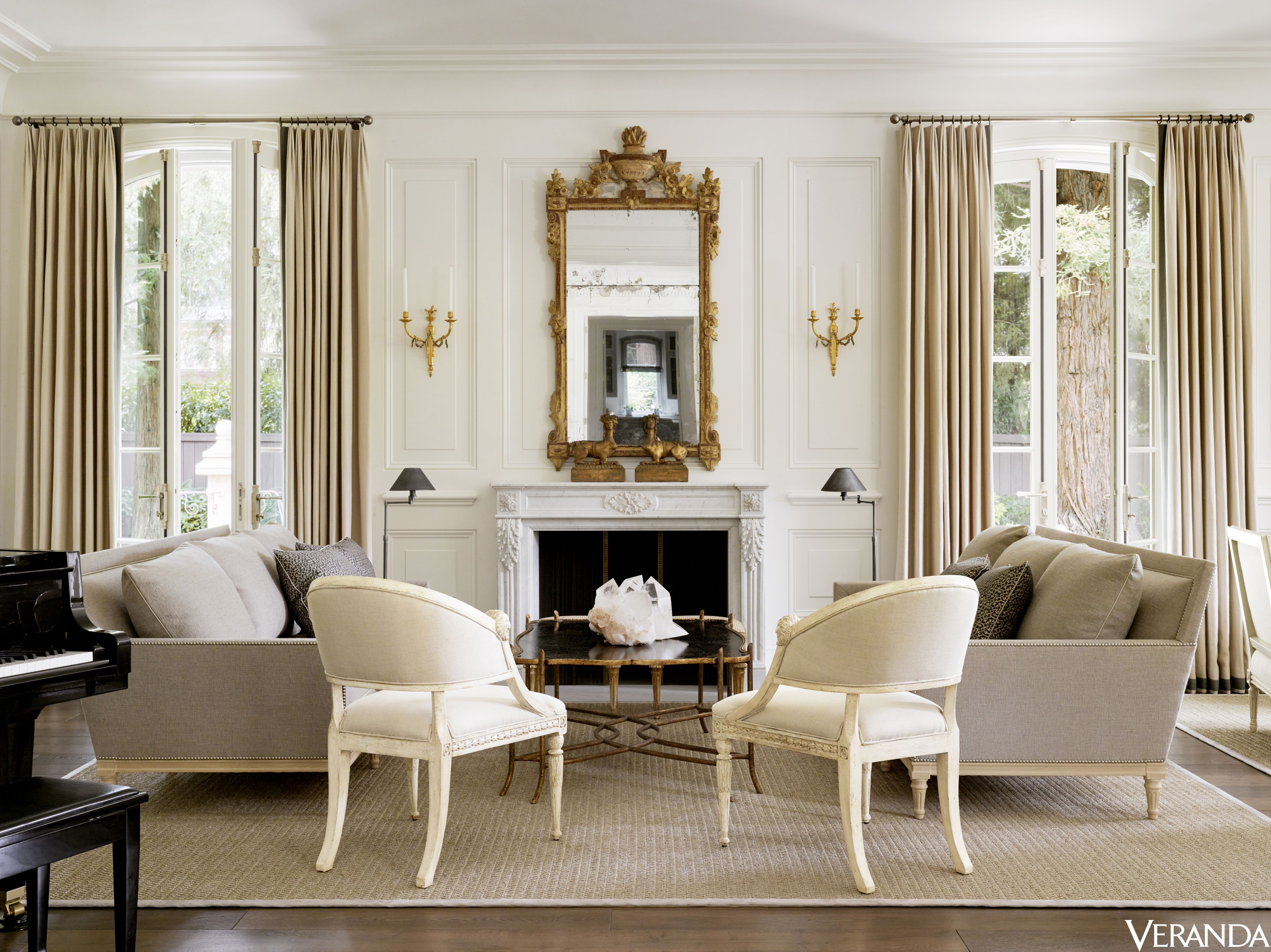 House Tour A California Mansion With Sumptuous French Sensibilities