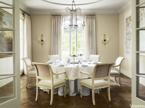 Dining Room French Chateau