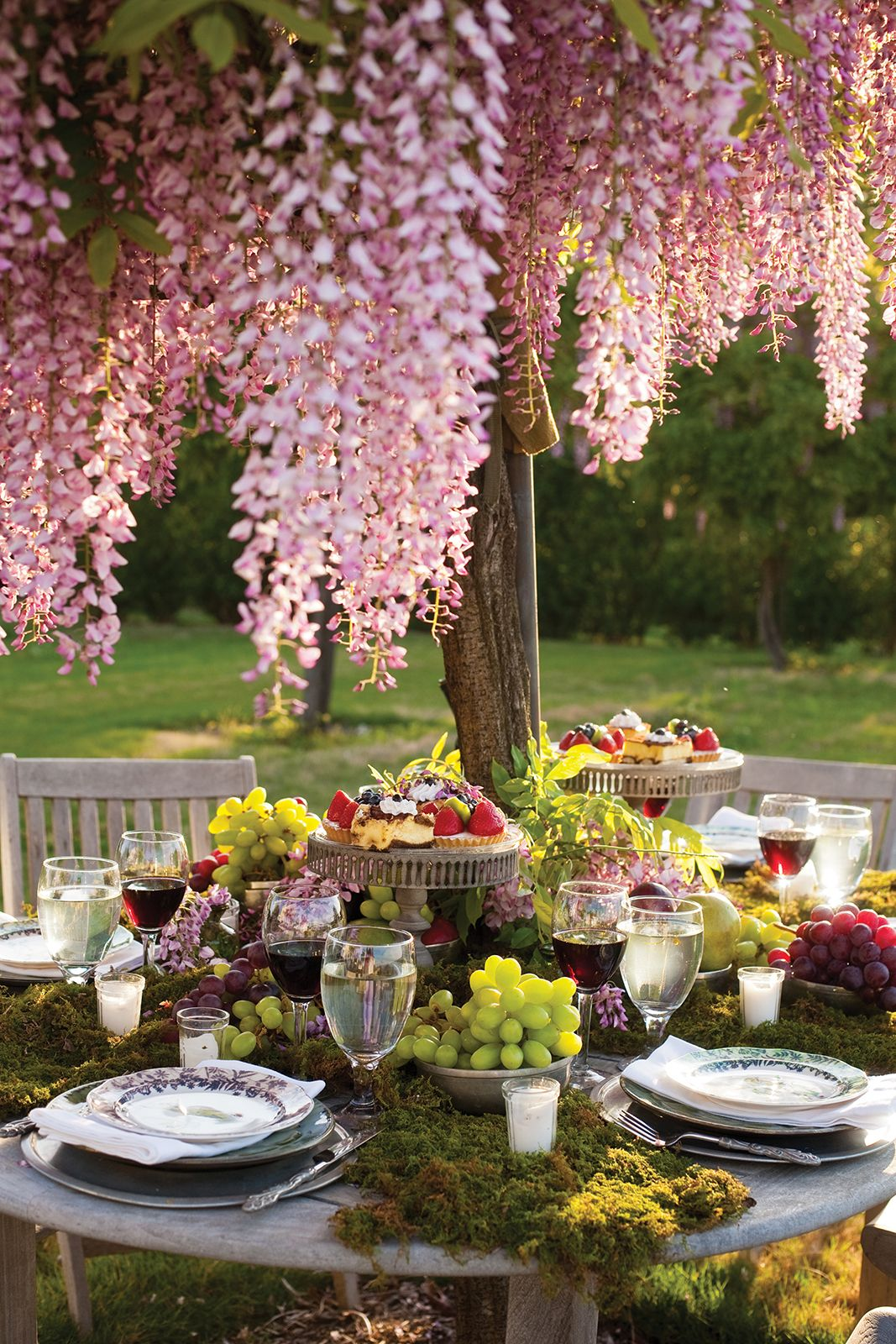 Admirable 26 Gorgeous Tablescapes For Outdoor Entertaining Summer Home Interior And Landscaping Palasignezvosmurscom
