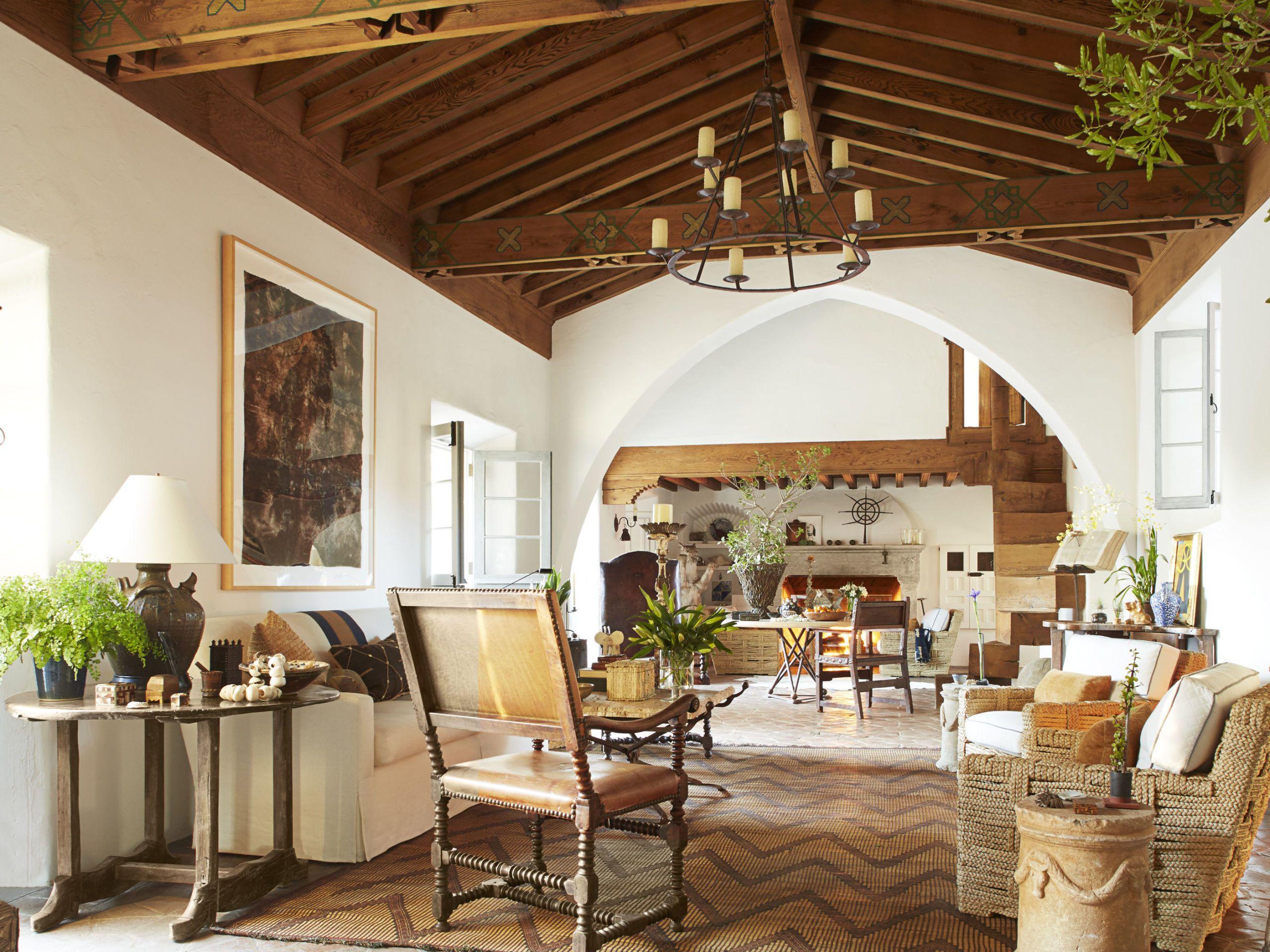 Most Beautiful Homes In California   Richard Hallberg Interior Design