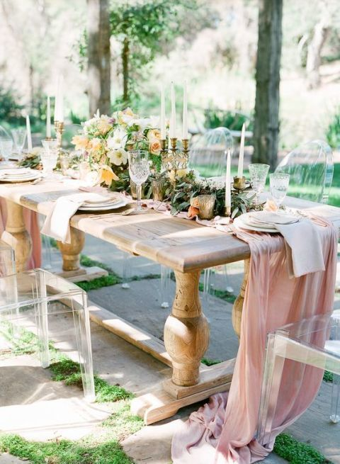Surprising 26 Gorgeous Tablescapes For Outdoor Entertaining Summer Beutiful Home Inspiration Ommitmahrainfo