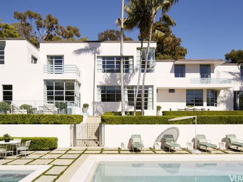 Cedric Gibbons Dolores del Rio House Tour - Hollywood Homes