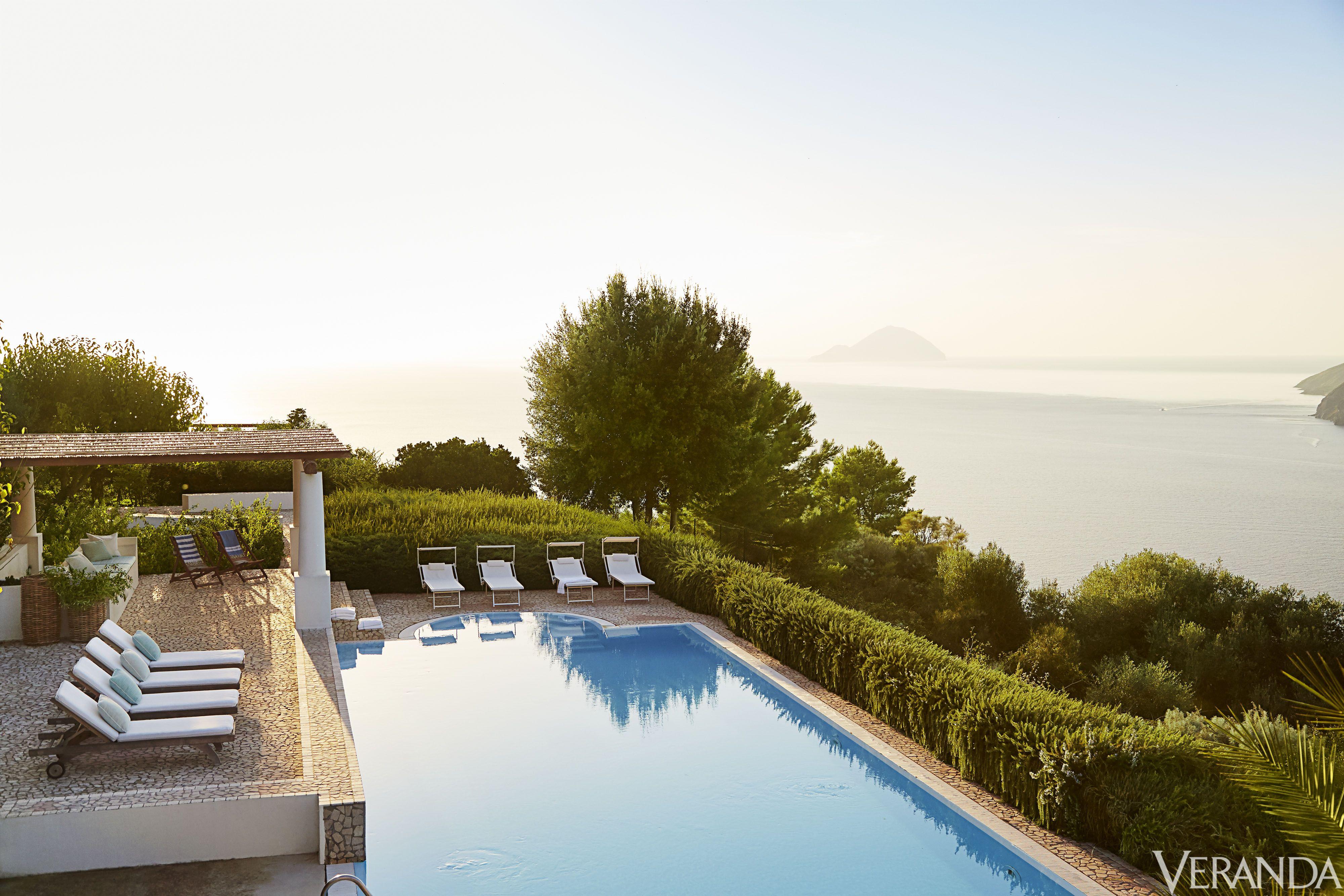 Lipari Island Paradise - Italian Villa House Tour