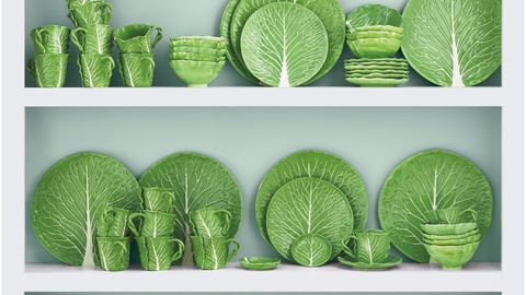 Green, Leaf, Collection,