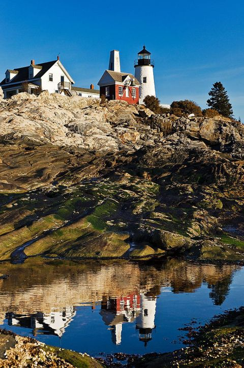 "<p><strong></strong><strong>Where:</strong> Pemaquid, ME</p><p><strong>Claim to Fame:</strong> Commissioned by John Quincy Adams in 1827, this lighthouse is forever memorialized on the state's quarter. </p><a href=""https://visitmaine.com/organization/pemaquid-point-lighthouse/?uid=vtmA4A53E72AF048924C""><u><strong>visitmaine.com</strong></u></a>"