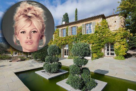 Brigitte Bardot Home