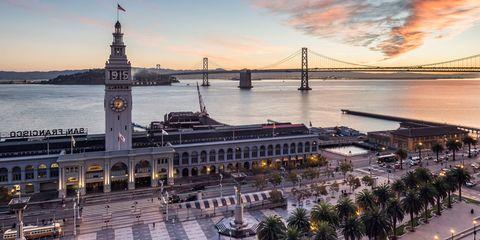 Embarcadero Historic District in San Francisco, California